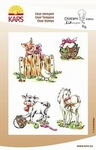 Storybook stamps Farmtales    per set