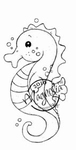 Seahorse    per stuk