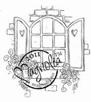 Romantic Window    per stuk