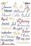 Maanden en seizoenen    per stuk
