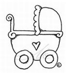 Kinderwagen / Barnvagn    per stuk