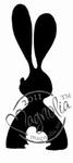 Small Black Rabbit    per stuk