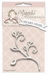Heart Swirl    per stuk