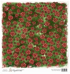 Sweet Green Poinsettia    per vel