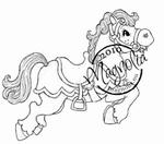 Circus Horse Mini    per stuk