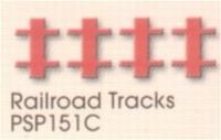 Railroad Tracks    per stuk