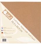 Kraft Paper  30,5 x 30,5 cm    per pak