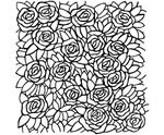 Rosen achtergrond    per stuk