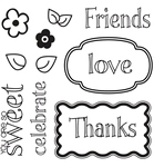 Stamp- Words & Tags    per set