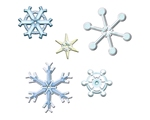 Sneeuwkristallen Groot    per stuk