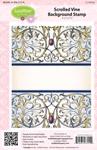 Scrolled Vine Background Stamp    per set