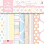 Spots & Stripes Pastels 6