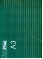 Snijmat op A3 formaat groen    per stuk
