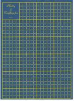 Snijmat op A4 formaat blauw    per stuk