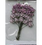 Rose Bunches Lavender    per set