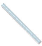 Ribbon Stitched Blauw 10 mm x 3mtr    per rol