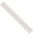 Ribbon Stripes Bruin 15 mm x 3mtr    per rol
