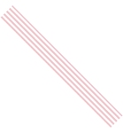 Ribbon Stripes Rose 15 mm x 3mtr    per rol