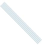 Ribbon Stripes Blauw 15 mm x 3mtr    per rol