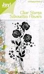 Silhouettes Flowers 4    per stuk