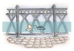 Royal Wedding Fence mini    per stuk