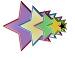 Stars Five    setje van 5