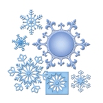 Snowflake Pendant 2013    setje van 6
