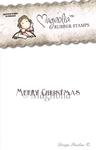 Merry Christmas tekst    per stuk