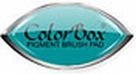 Turquoise Cat's Eye stempelkussen    per stuk