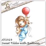 Sweet Tilda with Balloon    per stuk
