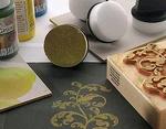 Sponge aplicator / Farbtupfer Schwämmchen    setje van 4