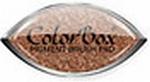 Bronze Metallic Cat's Eye stempelkussen    per stuk