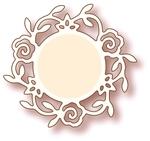 Rose Circle    per stuk