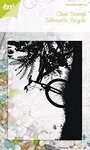 Bicycle on sunset    per stuk