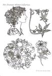 Art Nouveau Winter Collection    per stuk