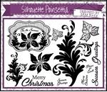 Silhouette Poinsettia A5    per vel