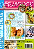 Scrapbook magazine nr. 18    per stuk