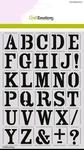 Mask stencil Alfabet Vintage A5