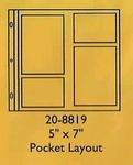 "5""x 7""  Pocket Layout"