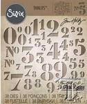 Stencil Numbers    per set