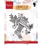 Doodle Christmas stocking    per stuk