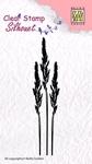 Silhouette Ears of Grass 1    per stuk