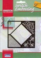 Switch embossingmal vierkant    per stuk