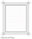 Rectangle Peek-a-Boo Window    per set