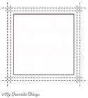 Square Peek-A-Boo Window    per set