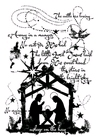 Vintage Nativity    per stuk