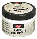 Relief-Papierpaste Oud wit  150 ml    per pot
