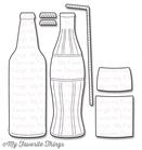 Soda Pop Bottles    per set
