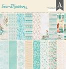 Sea Maiden 12x12 Inch Paper Pad    per pak
