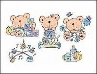 Stampies : Baby's    per set